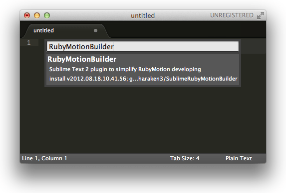 RubyMotionBuilder